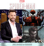Joel McHale as Carnage (Spider-Man) by MZimmer1985