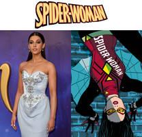 Naomi Scott as Spider-Woman (Spider-Woman)