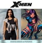 Sonoya Mizuno as Psylocke (X-Men) by MZimmer1985