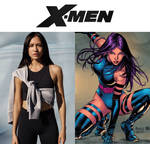 Sonoya Mizuno as Psylocke (X-Men) by MZimmer1985
