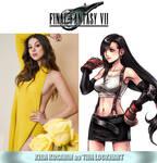 Kira Kosarin as Tifa Lockhart (Final Fantasy VII) by MZimmer1985