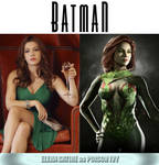 Elena Satine as Poison Ivy (Batman) by MZimmer1985