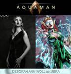Deborah Ann Woll as Mera (Aquaman) by MZimmer1985
