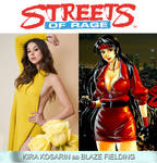 Kira Kosarin as Blaze Fielding (Streets of Rage) by MZimmer1985