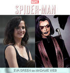 Eva Green as Madame Web (Spider-Man) by MZimmer1985