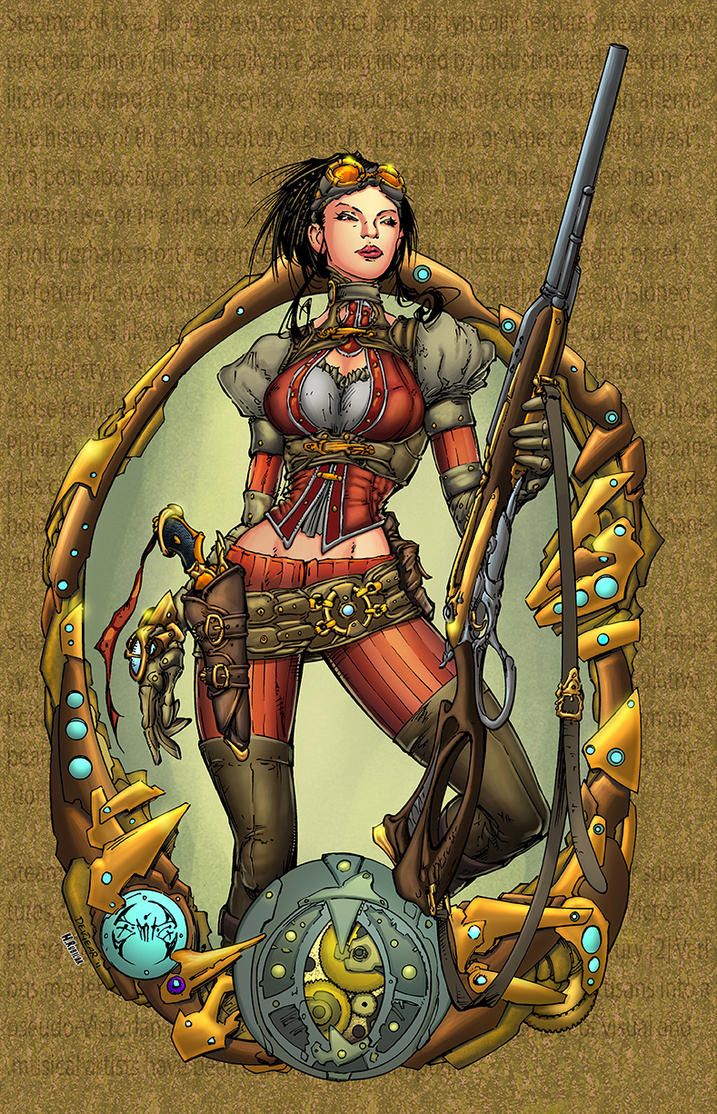Lady Mechanika Cover #0 by HectorRubilar