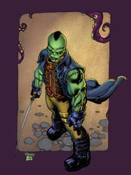 Studies Frankenstein Agent of Shade by HectorRubilar
