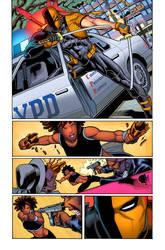 DEATHSTROKE 23 PAGE 07 by HectorRubilar