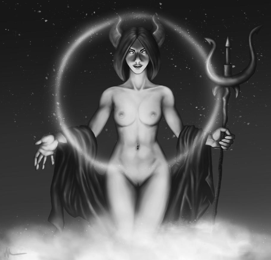 goddess by MisteriaExp