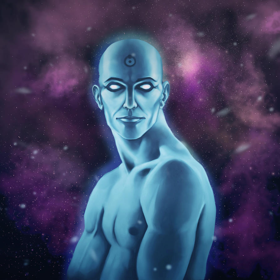 Dr. Manhattan by MisteriaExp