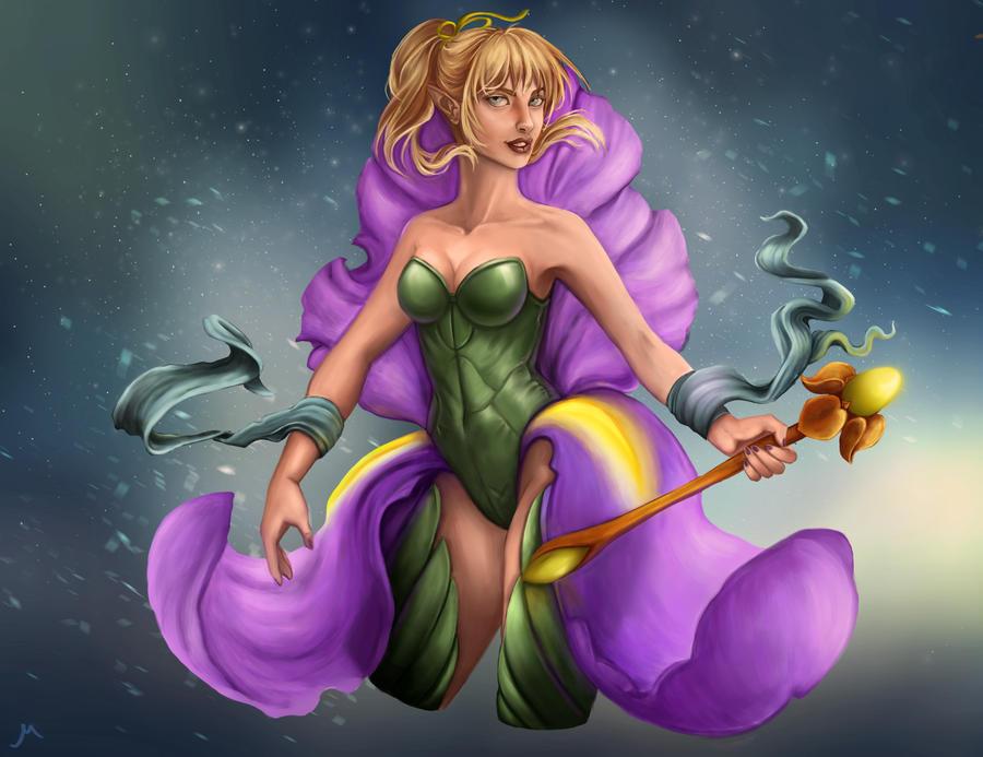 Iris fairy by MisteriaExp