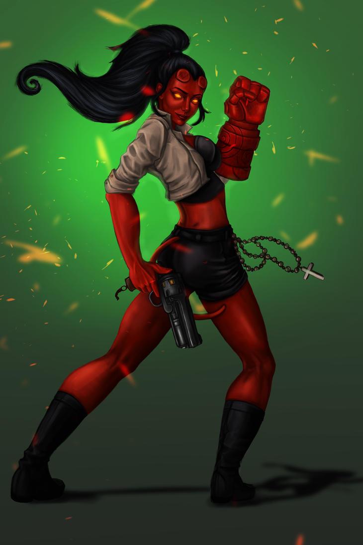 hellgirl by MisteriaExp