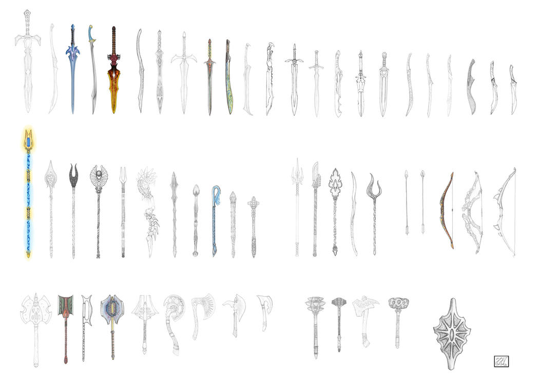 Weapon Set Complete 2007 by naraphim
