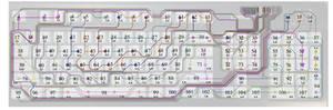 Cathode - complete, with matrix coordinates