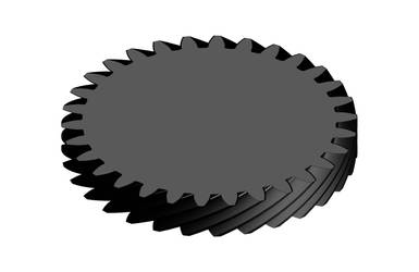 Spiral gear by naraphim