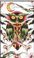 Owl by MrJefferyPage