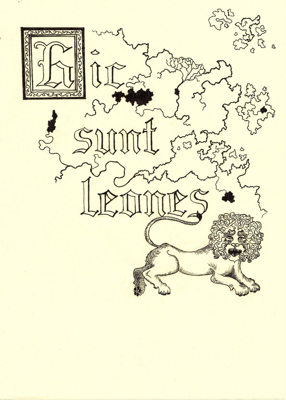 Hic sunt leones by elisavetta