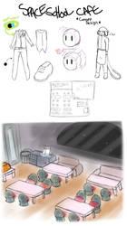 Space School Cafe Concept by Dark-Videogamer