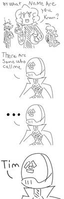 And so his name is revealed. by Dark-Videogamer