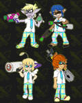 Splatoon X Space School by Dark-Videogamer
