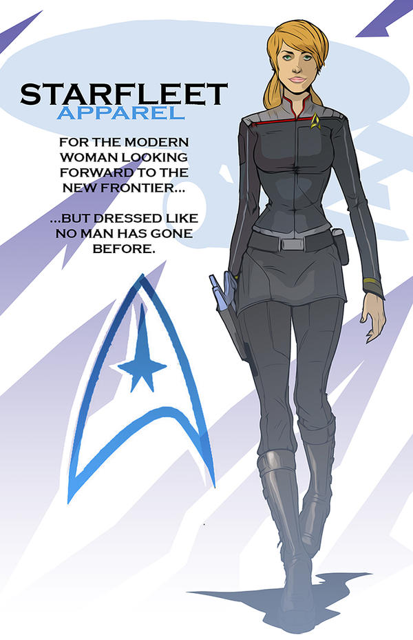 Starfleet uniform by Gaugex on DeviantArt