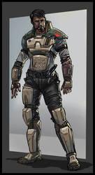 Rebel General Starkiller by Gaugex