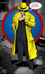 Dick Tracy SketchDailes by Gaugex