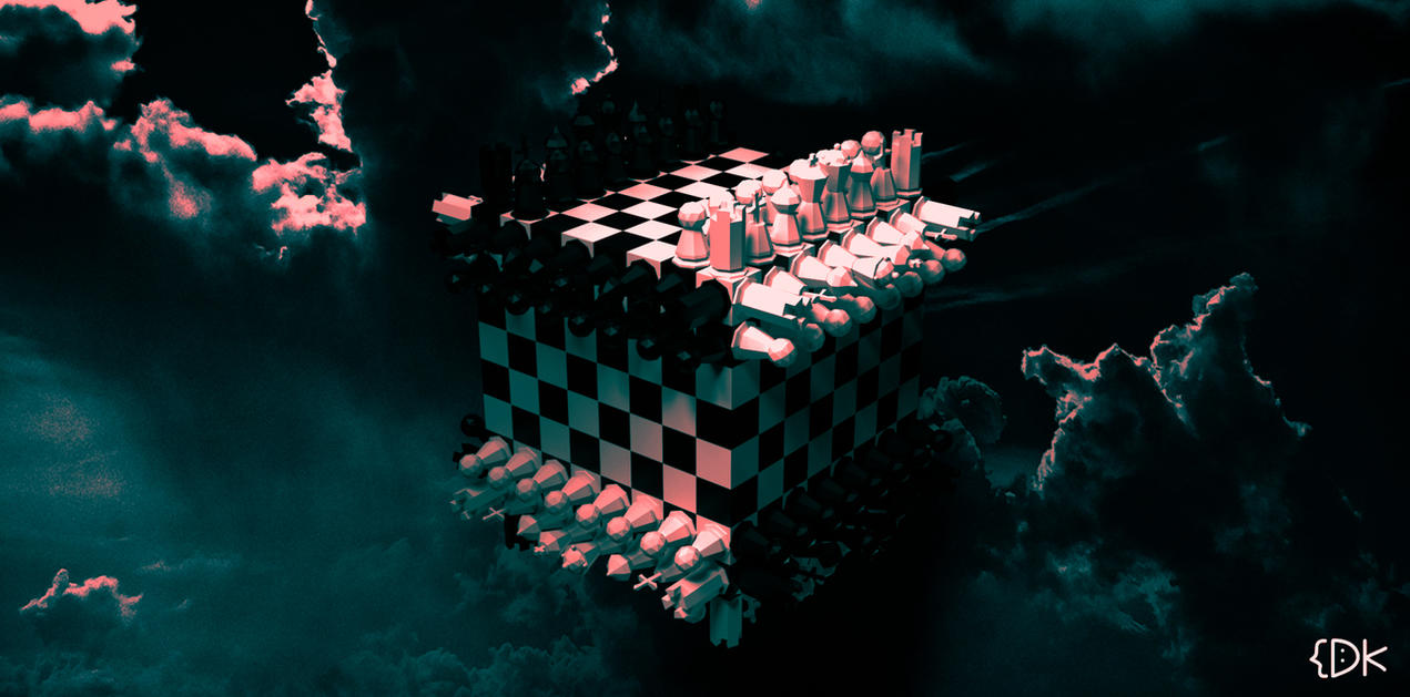 Chess Cube by dave-kol