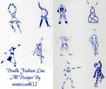Doodle Fashion Line by CoolKaius