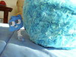 Gumball With Blue Gumball Pillow by CoolKaius