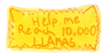 10,000 Llamas Stamp by CoolKaius