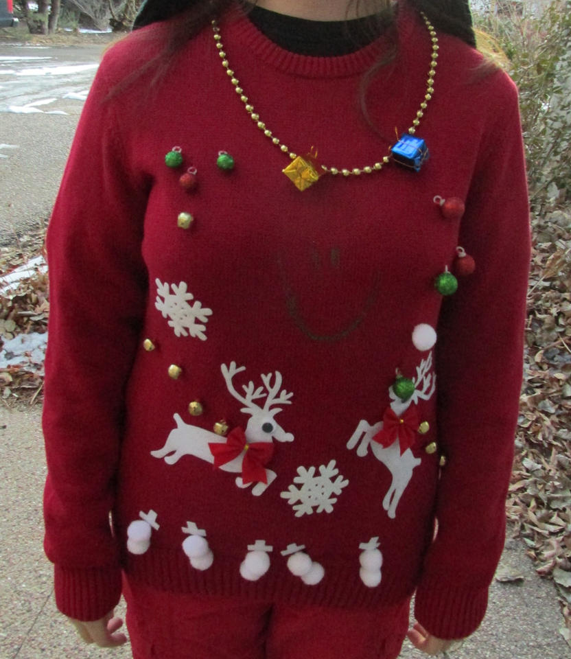 my ugly christmas sweater kit by wintercool612 - My Ugly Christmas Sweater