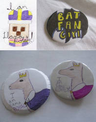 Custom Pin-Back Buttons by CoolKaius