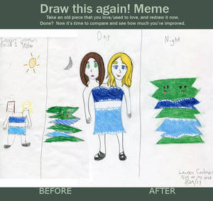 Draw This Again Meme - Two Headed Monster