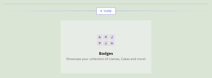 Add Badges Section