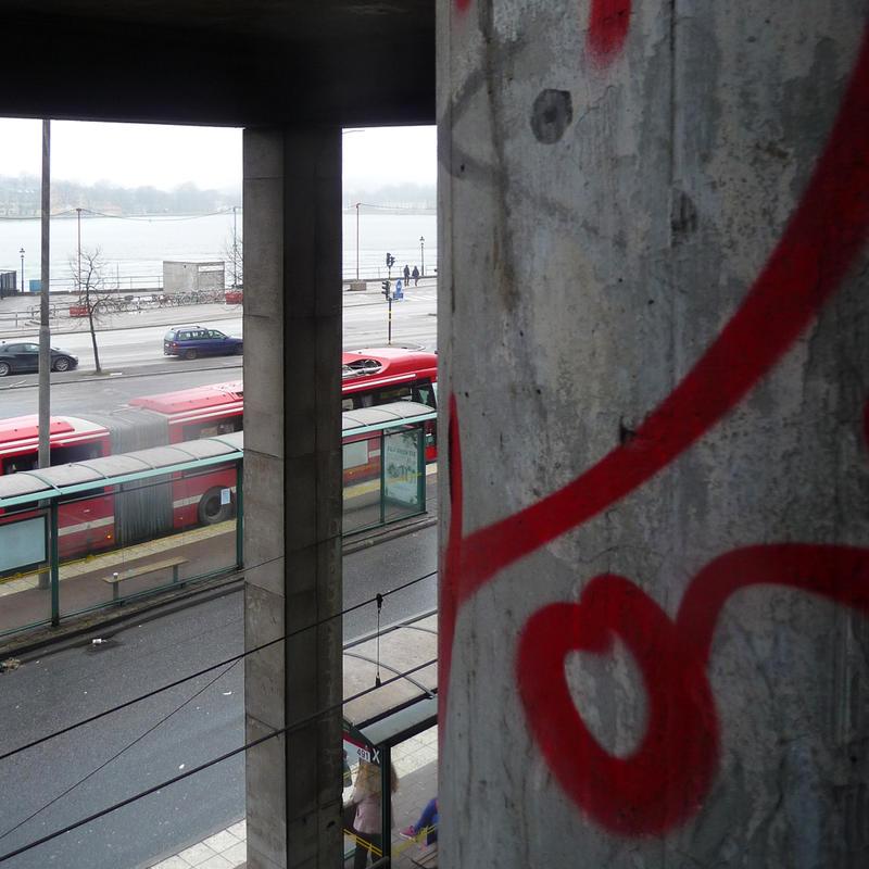 Red in Stockholm 1 by birgzett