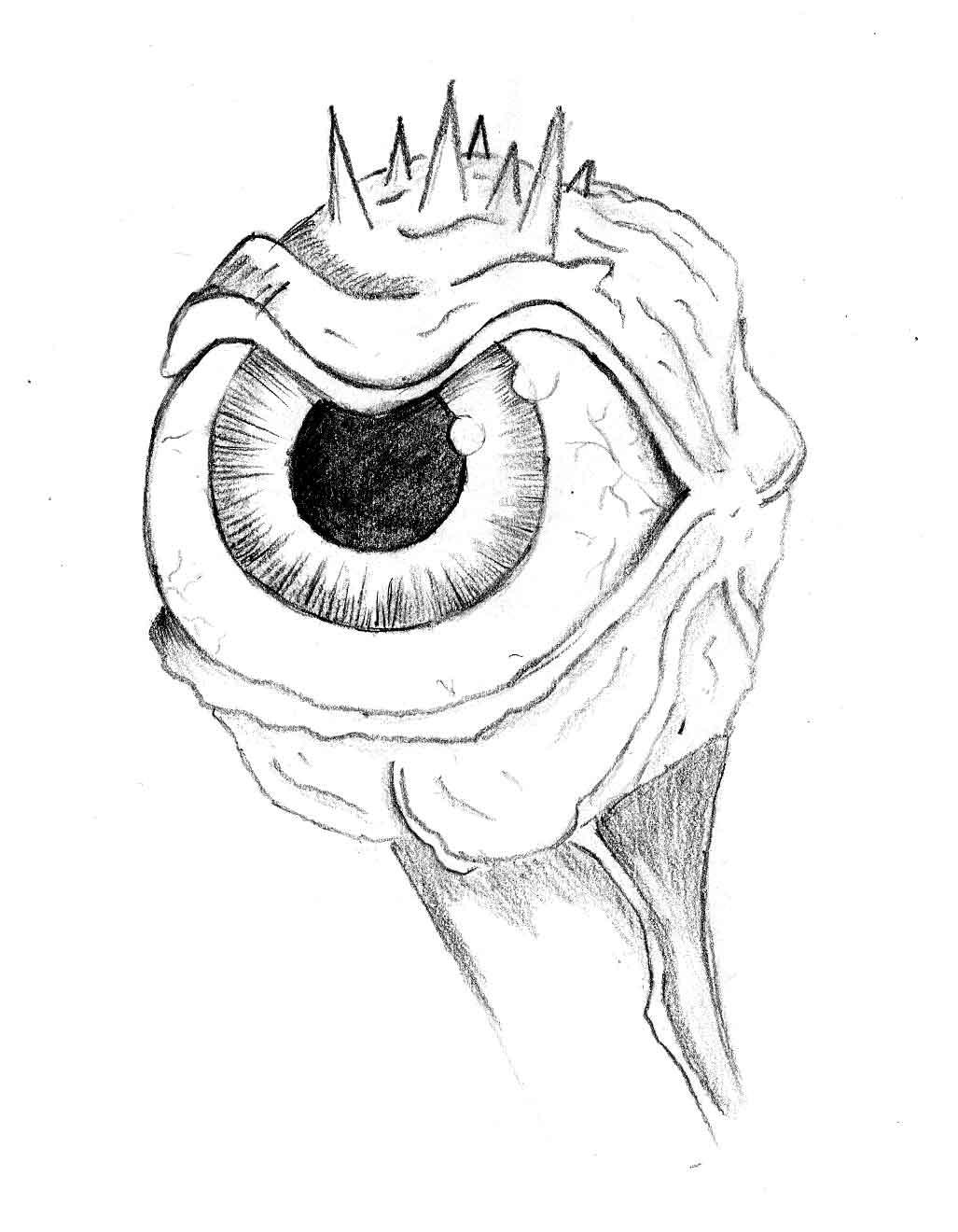 Evil eye by fantasyart on deviantart for Evil eye coloring pages