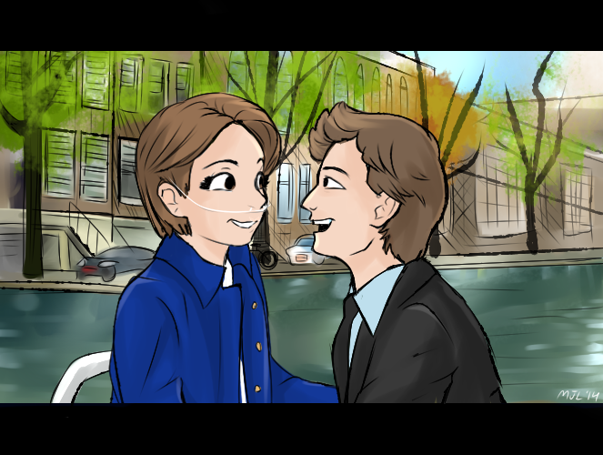 The Fault in our Stars Fanart by MaryTheEchidna
