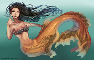 Mermaid by Naritzabet
