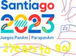 Santiago 2023 Pan American Games 2 Year Countdown