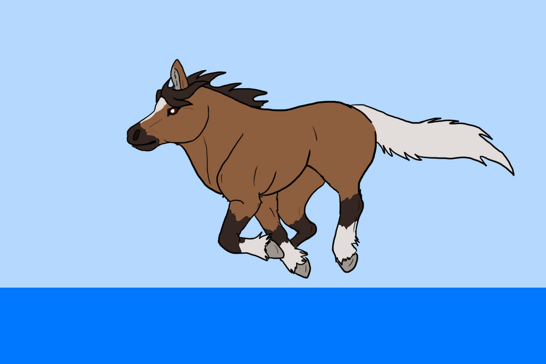 My First Horse Animation By Cylithren On DeviantArt