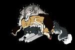Wolf pile