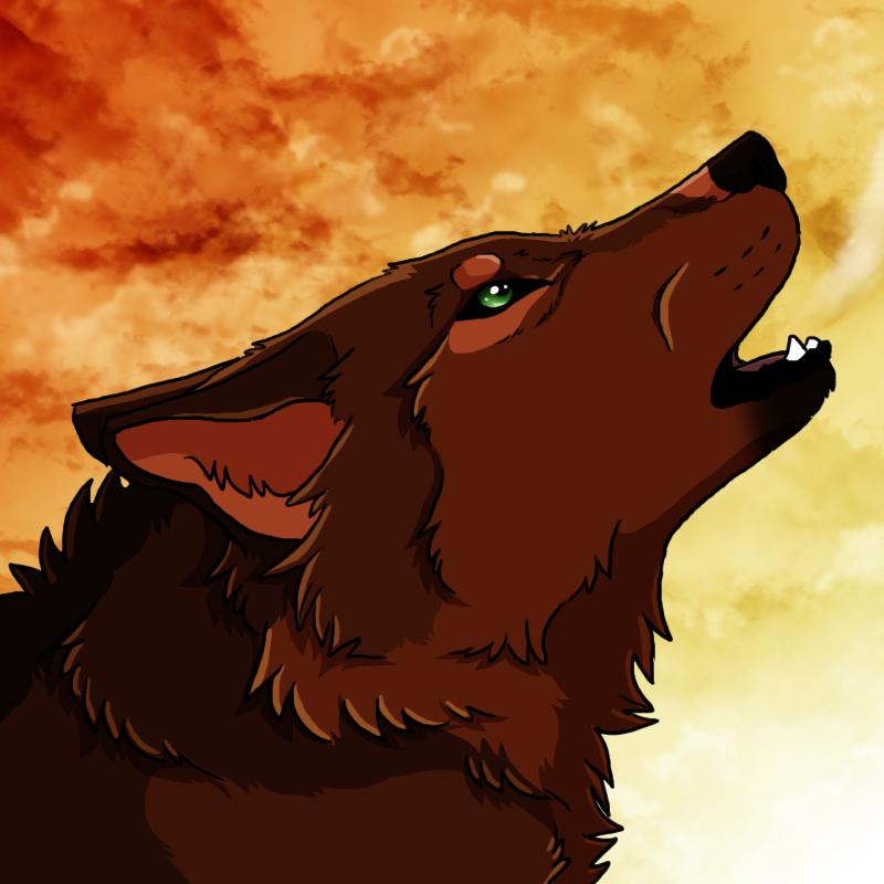 red wolf by cylithren on deviantart