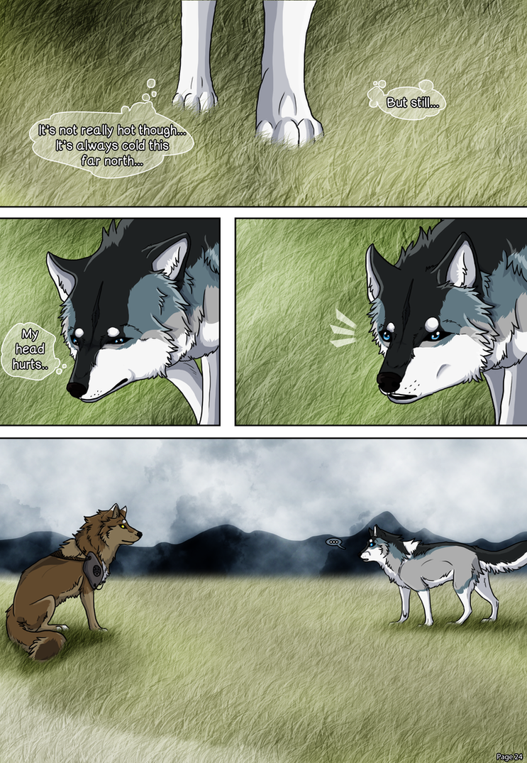 The Whitefall Wanderer - Page 24 by Cylithren