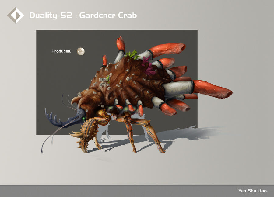 Duality-52: Gardener Crab by YSLiao