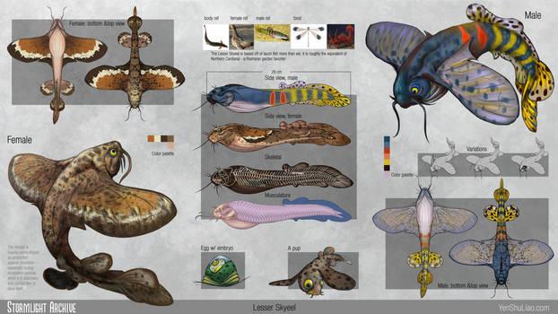 Stormlight Archive - Lesser Skyeel