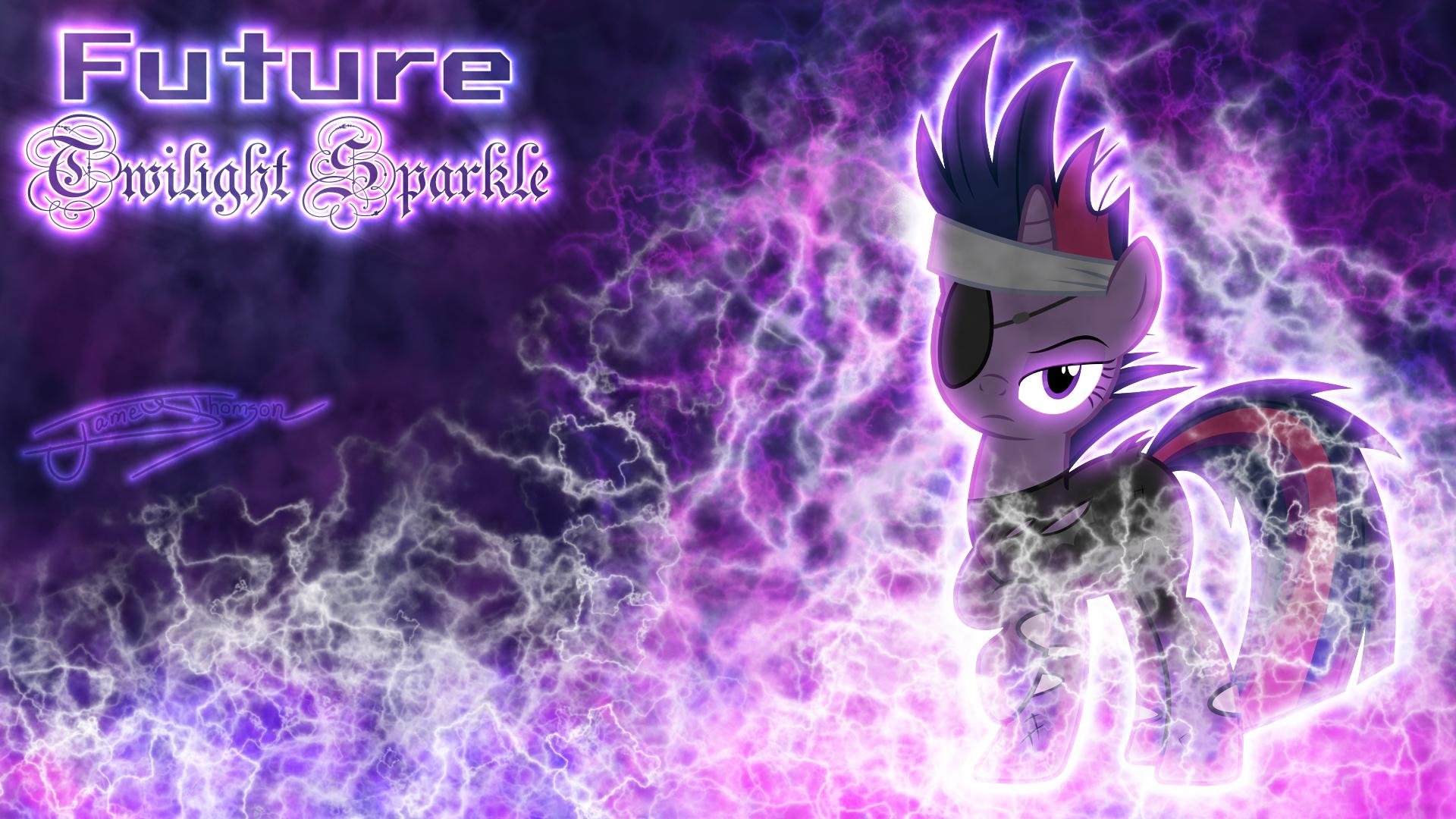 Future Twilight Sparkle by Jamey4