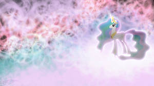 Princess Celestia - Colorful Clouds