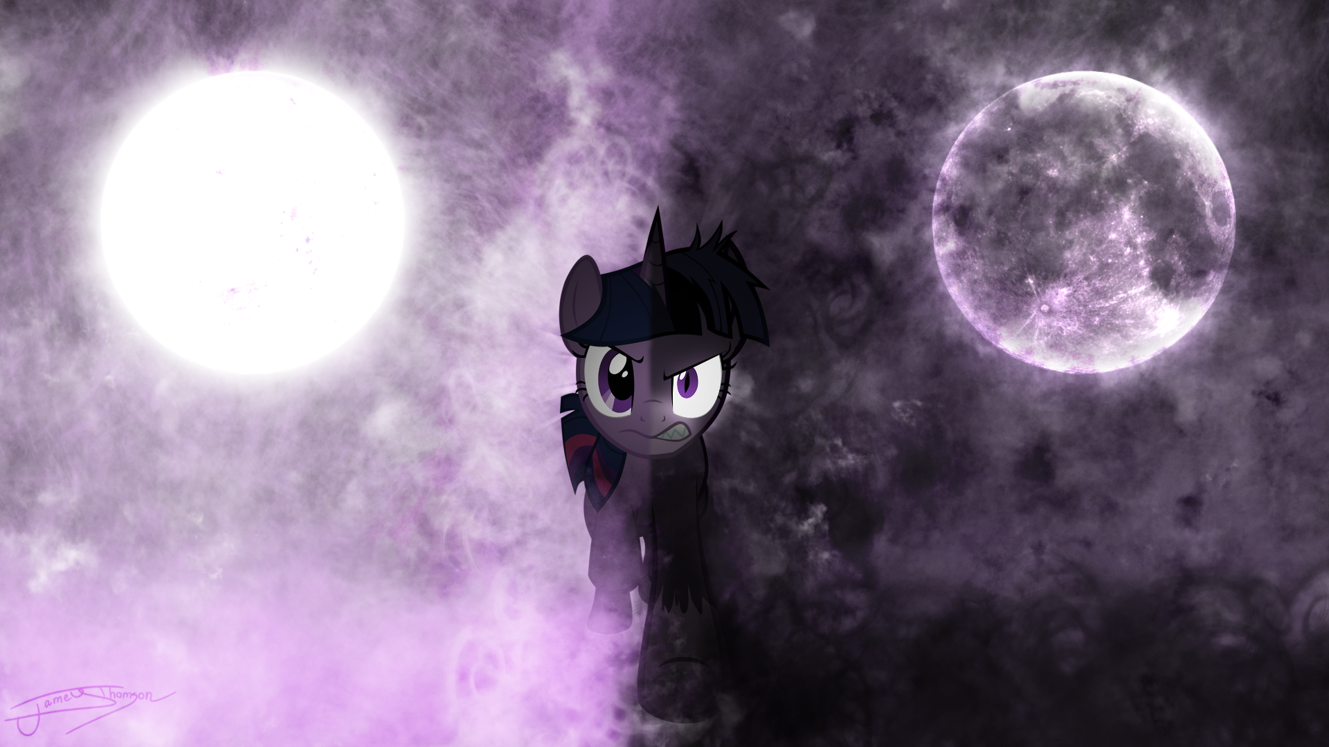 Twilight Sparkle - Curse of the Moonlight by Jamey4