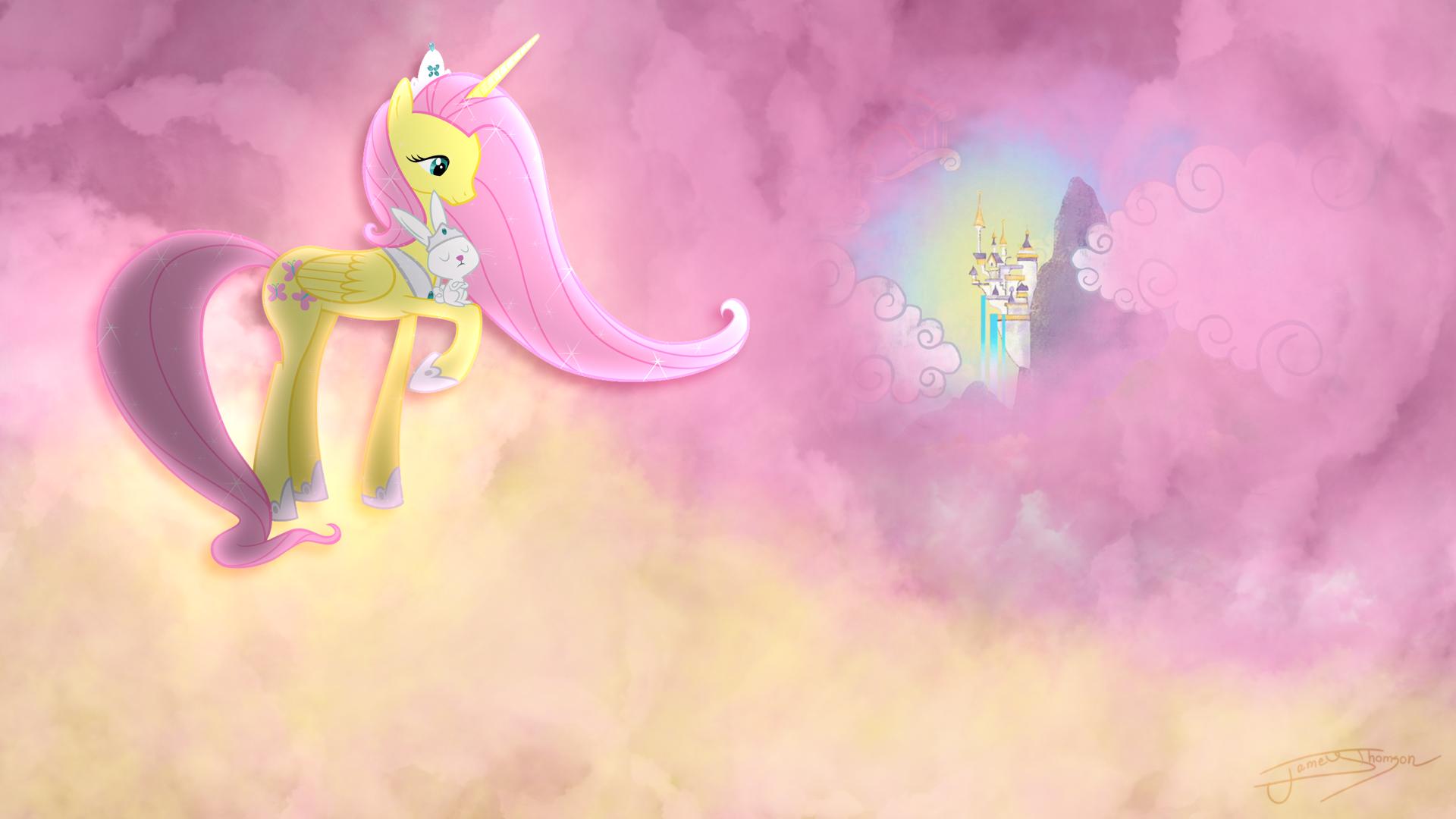 Fluttershy - Alicorn Goddess